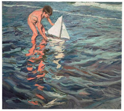 Sorolla. El color del mar.